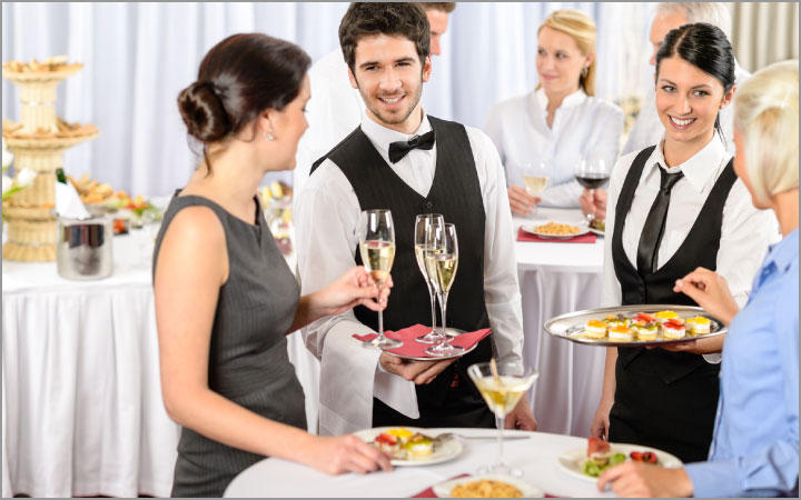 Hire a professional catering company to make your event memorable